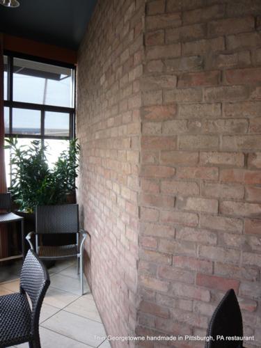 Georgetowne Handmade Thin Brick Wall
