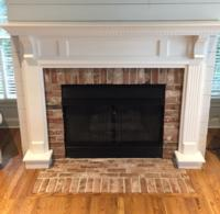 Georgetowne Thin Brick on Fireplace