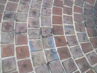Special 8' x 8' pavers