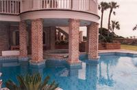 Georgetowne Handmade Pool Copings on Hilton Head Island