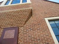 Tryon Handmade Brick Corbelled Bay