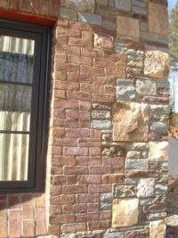 Georgetown Handmade Brick - Beautifully Juxtaposed with Stone