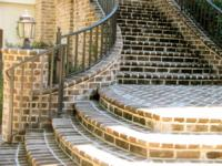 Handmade Brick - Savannah Grey Step Treads and Copings