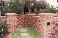 Georgetowne Handmade Brick Sea Wall on Hilton Head