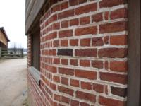 Tryon Handmade Brick on Mt. Vernon's 16-sided barn
