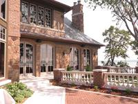 Tryon Handmade Brick on Home in Lake Wayzata, MN