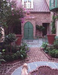 Handmade Brick on Charleston Courtyard