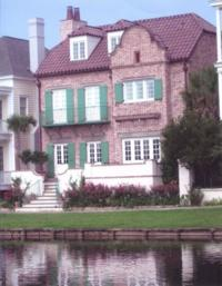 Old Carolina® Handmade Brick on Charleston Waterfront Home