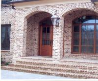 Handmade Brick, Blend of Georgetowne, Georgetowne clinkers, and Savannah Grey clinkers.